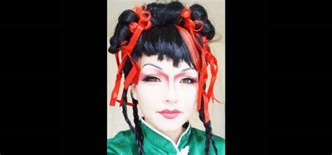 Geisha Get It by How To Get A Geisha Inspired Makeup Look 171 Makeup