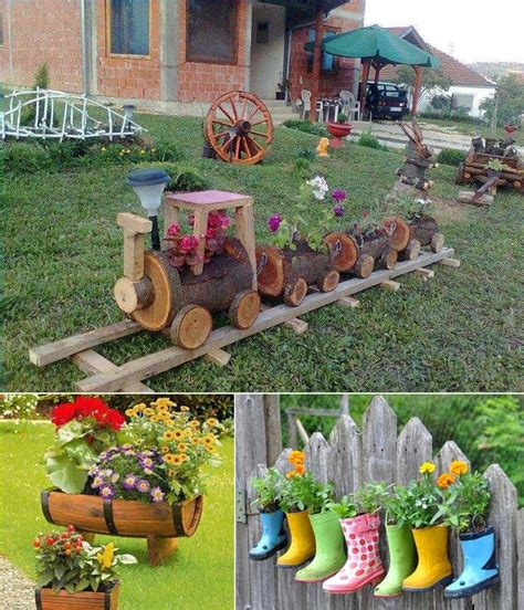 Backyard Planters Ideas by 5 Cool Planter Ideas For Your Garden To Welcome