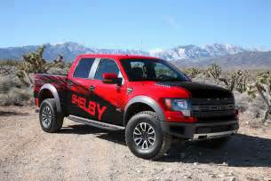 new shelby american package for ford f 150 svt raptor