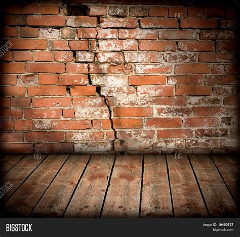Gothic Floor Plans Interior Old Brick Wall Wooden Image Amp Photo Bigstock