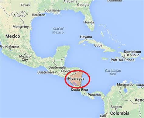 where is nicaragua on the world map election year in nicaragua times org