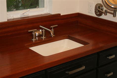 jatoba cherry flat grain countertop
