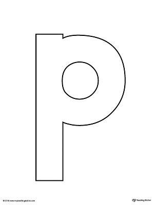 letter p template letter p scramble worksheet myteachingstation