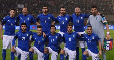 daftar skuad pemain timnas italia  terbaru update