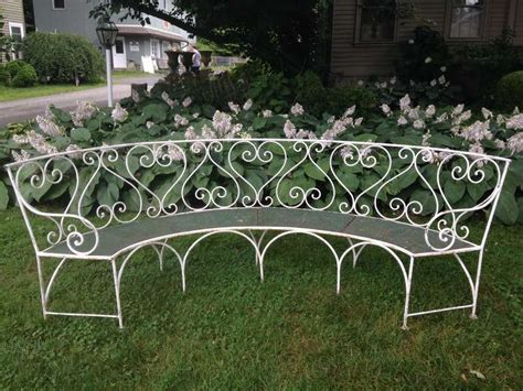 french garden bench wrought iron french garden bench for sale at 1stdibs