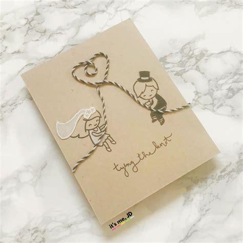 handmade wedding card ideas  couples  love