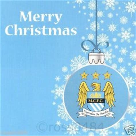 manchester city christmas card man city xmas official gift