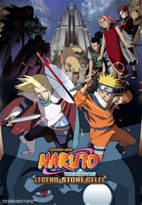 film drama naruto naruto the movie legend of the stone of gelel youtube