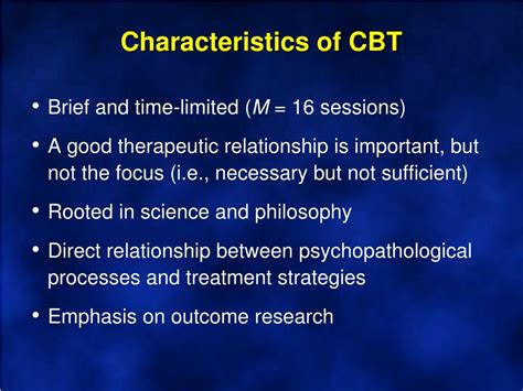 process based cbt the science and clinical competencies of cognitive behavioral therapy books ppt cognitive behavioral therapies an overview chapter
