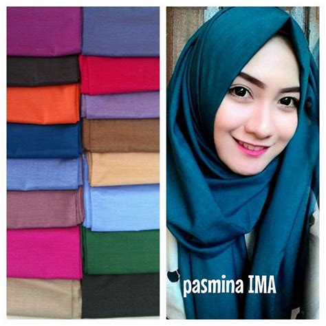 Jilbab Pasmina Kerudung Segiempat Bahan Rawis Katun jilbab pashmina ima cotton by azzura jual jilbab pashmina ima cotton by azzura murah