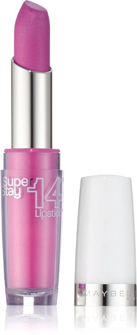 Lipstik Maybelline Superstay maybelline superstay 14 hour wear lipsticks 3 5g various shades ebay