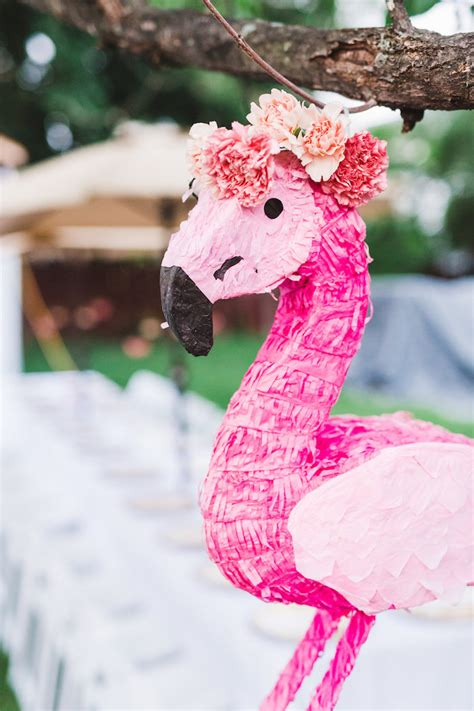 karas party ideas florals flamingos birthday party karas party ideas