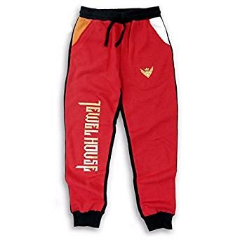 jewel house clothing red joggers pants car interior design