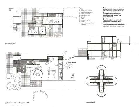 villa tugendhat floor plan villa tugendhat luxurious less arkitalker