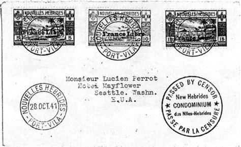Pch Address Change - the new hebrides postal history sts