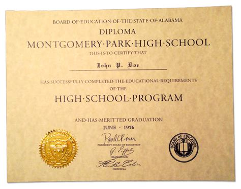 high school diploma template with seal buy a high school diploma transcripts