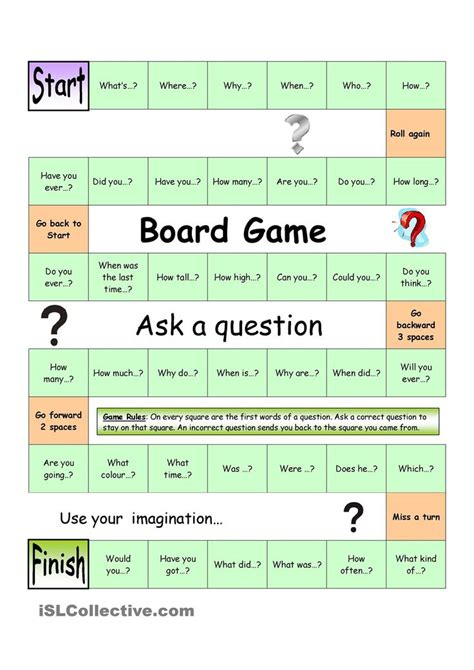 How To Ask A Question In English Huzzah Mates | board game ask a question easy esl teaching