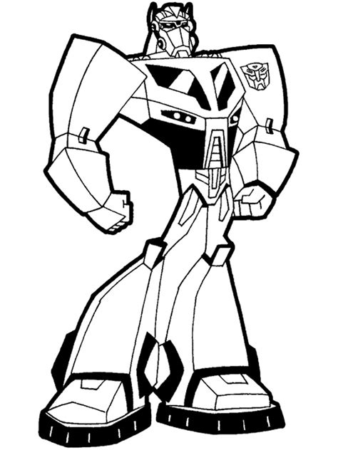 Robots and Transformers coloring pages. Free Printable