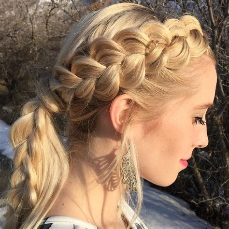 hair for braids 25 side braid hairstyle designs ideas design trends