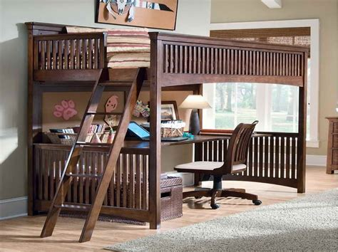 Bunk Bed With A Desk Underneath Bedroom How To Build A Loft Bed With Desk Underneath Metal Loft Bed Bunk Bed Bunk Bed With