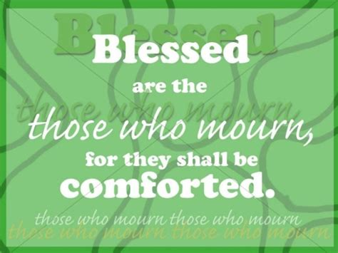 comfort those who mourn blessed are those who mourn the beatutitudes