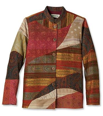 Mens Patchwork Jacket - colourful jackets for kerala tapestry patchwork
