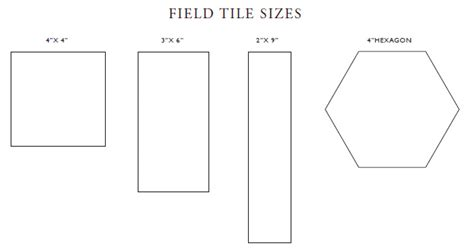 tile sizes for bathrooms sizes shapes origami tile
