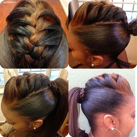Ponytail Hairstyles For Black Hair For School by 773 Best Images About Grey Hair On Gray