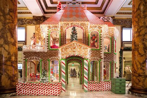 two story gingerbread house template 23 photos of the fairmont hotel s two story gingerbread