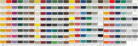 6 best images of jotun ral colour chart pdf ral color chart pdf ral paint color chart and