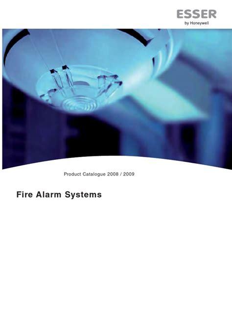 Alarm Esser esser alarm system