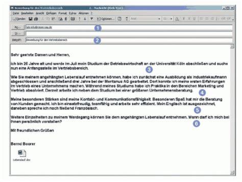 Bewerbung Ferienjob Per E Mail 6 Bewerbung Email Anschreiben Bewerbungsschreiben
