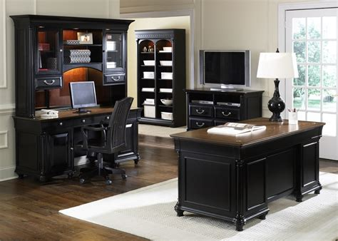 home office furniture st ives 5 jr executive home office set in two tone