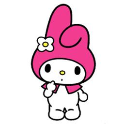 imagenes de hello kitty y melody what sanrio s my melody looks like without her hat