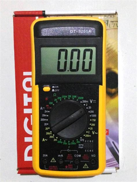 Jual Multitester Digital Jogja jual digital multi meter multi tester toko led luxeon