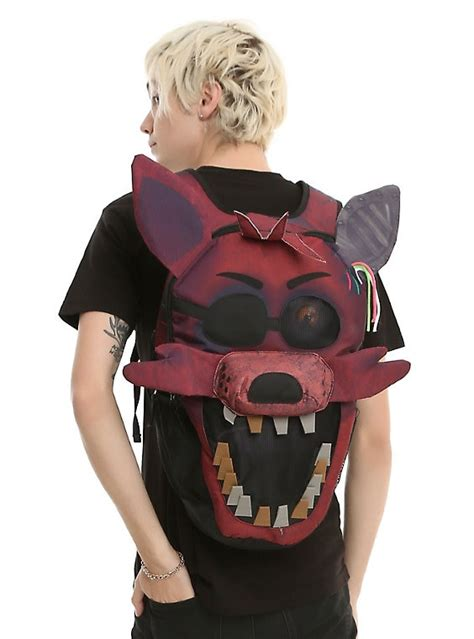 nights  freddys foxy face backpack hot topic