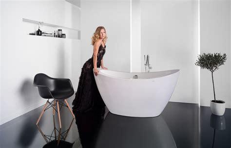 freestanding acrylic bathtub purescape 148