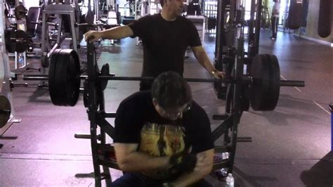 14 year old bench press 54 year old does over 300lb bench press youtube