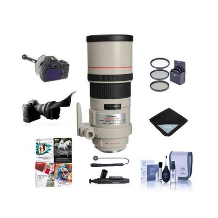 canon ef 300mm f/4l is usm lens, usa. with premium
