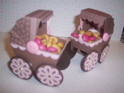 Baby Shower Paper Crafts - baby shower nut cups by lonester cards and paper