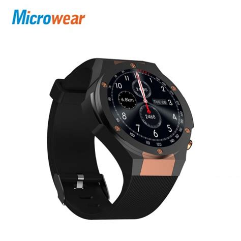 Microwear H2 3g Smartwatch Smart Android 1gb 16gb Zeblaze Lemfo microwear h2 smartwatch rate 1gb 16gb mtk6580 400