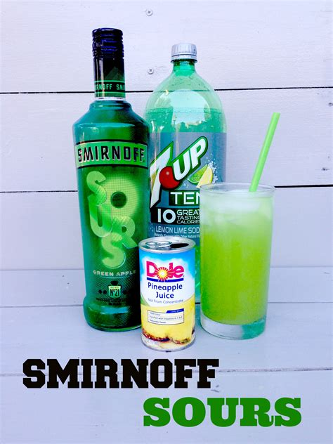 martini smirnoff smirnoff sours green apple vodka recipe follow for more