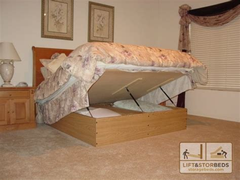 lift and store beds platform lift storage bed contemporary by lift and