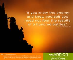 A Place Enemy Of War Quote The Nourished Warrior