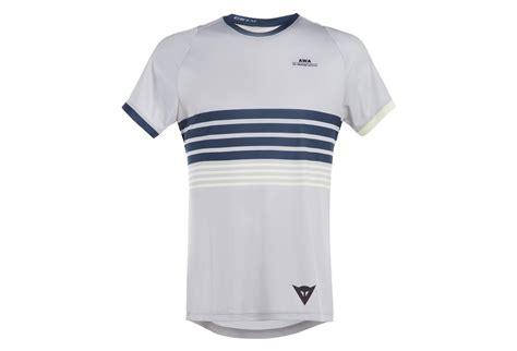 Tshirt Dainese 1 t shirt technique dainese awa 1 blanc bleu noir jaune