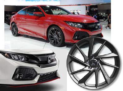2017 2018 honda civic si sedan hfp package (inc. shipping