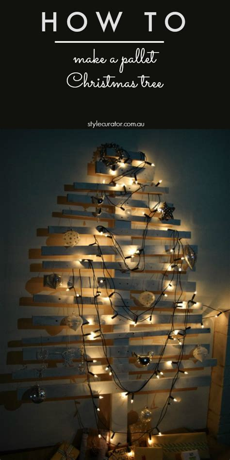 How To Make Pallet by Diy Tree L Pallet Tree
