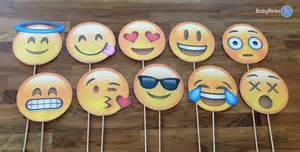 photo props the emoji set 10 pieces party wedding