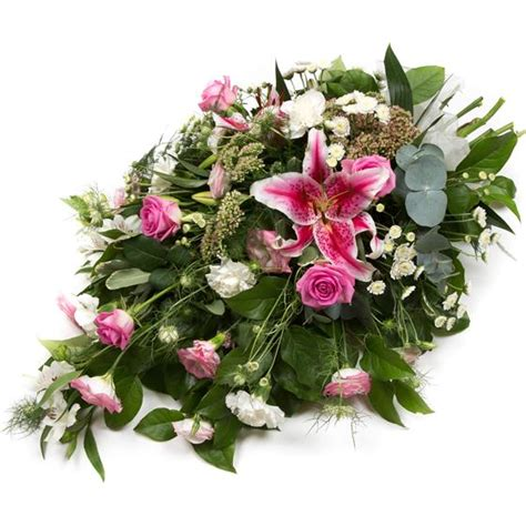 Sprei Flower pink spray funeral flowers isle of