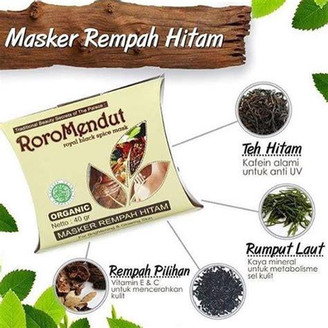 Eceran Masker Roro Mendut roro mendut brotowali masker jerawat organik